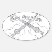 New Orleans Guitars Decal