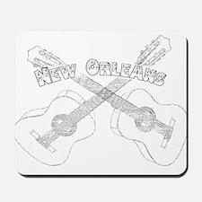 New Orleans Guitars Mousepad