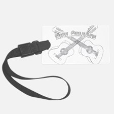 New Orleans Guitars Luggage Tag