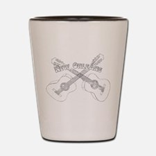 New Orleans Guitars Shot Glass