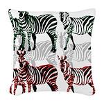 OYOOS Zebra design Woven Throw Pillow