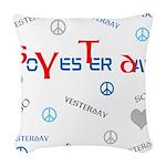 OYOOS SoYesterday design Woven Throw Pillow