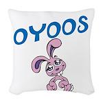 OYOOS Bunny design Woven Throw Pillow