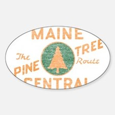 Pine Tree Route Decal