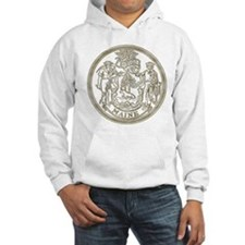 Maine State Seal Hoodie