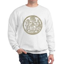 Maine State Seal Sweatshirt