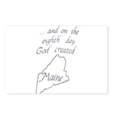 God Created Maine Postcards (Package of 8)