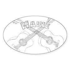 Maine Guitars Decal