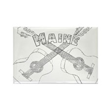 Maine Guitars Rectangle Magnet