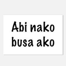 Abi Nako Busa Ako Postcards (Package of 8)