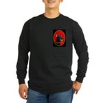 Jolly Dobe Xmas Long Sleeve Dark T-Shirt