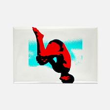 Dive = No Fear Rectangle Magnet