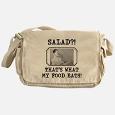 Overly Manly Man Salad Messenger Bag