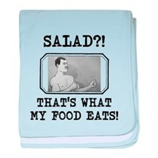 Overly Manly Man Salad baby blanket