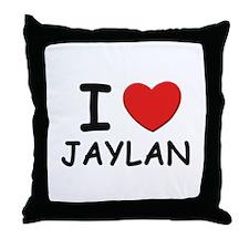 I love Jaylan Throw Pillow
