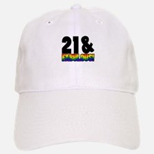 Fabulous Gay 21st Birthday Baseball Baseball Cap