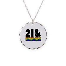 Fabulous Gay 21st Birthday Necklace