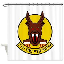 7th FS 'Bunyaps' Shower Curtain