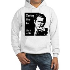 Hooded Sweat: Saving your Ass (front)