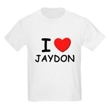 I love Jaydon Kids T-Shirt