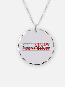 Job Ninja Loan Officer Necklace