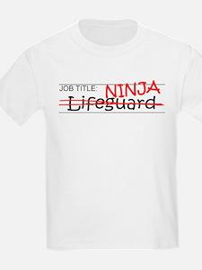 Job Ninja Lifeguard T-Shirt