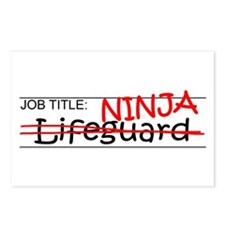 Job Ninja Lifeguard Postcards (Package of 8)