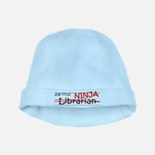Job Ninja Librarian baby hat