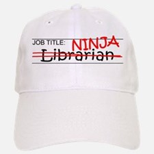Job Ninja Librarian Baseball Baseball Cap