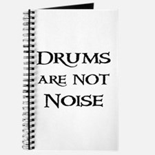 Drums are not Noise Drummer Journal