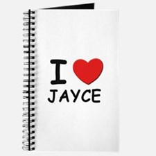 I love Jayce Journal