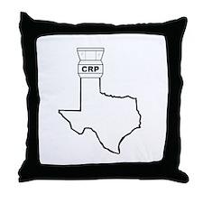 Air Traffic Texas Throw Pillow