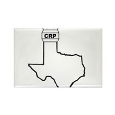 Air Traffic Texas Rectangle Magnet