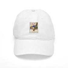 Retro Camping Girl Baseball Cap