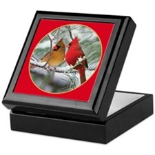 Cardinals Keepsake Box