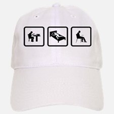 Laptop User Baseball Baseball Cap