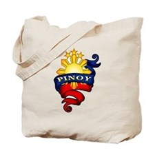 Pinoy Coat of Arms Tote Bag