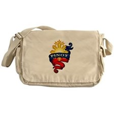 Pinoy Coat of Arms Messenger Bag