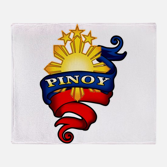 Pinoy Coat of Arms Throw Blanket