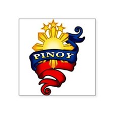 Pinoy Coat of Arms Sticker