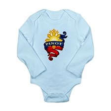 Pinoy Coat of Arms Body Suit