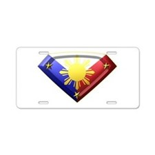 Super Pinoy Aluminum License Plate