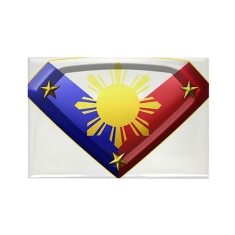 Super Pinoy Rectangle Magnet