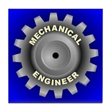 Mechanical Engineering Tile Coaster