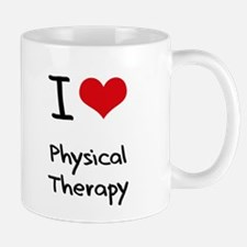 I Love Physical Therapy Mug