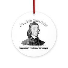 Josiah Bartlett 01 Ornament (Round)