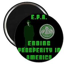 "EPA Ending Prosperity in America 2.25"" Magnet (100"