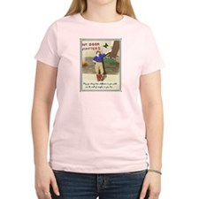 Retro Camping Girl T-Shirt