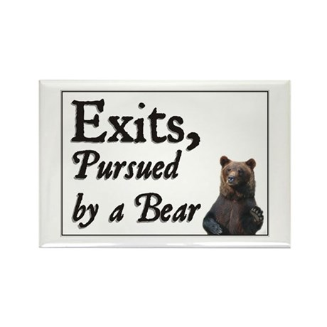 Exits, Pursued by a Bear Rectangle Magnet (10 pack