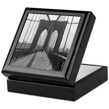 Keepsake Box<BR>Vintage Brooklyn Bridge